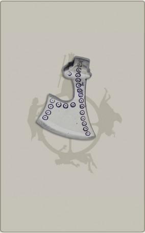 Axtamulett aus Silber