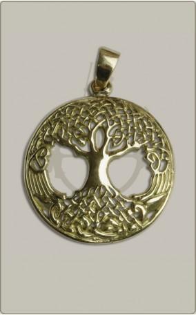 Weltesche aus Bronze