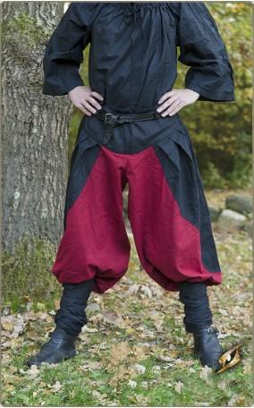 Zweifarbige Hose