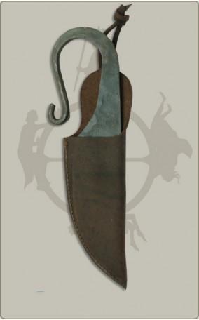 Wikingermesser mit Scheide