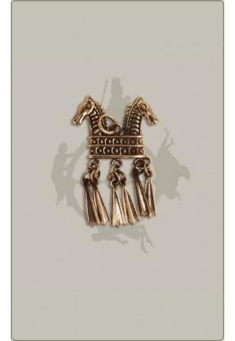 Klapperanhänger aus Bronze