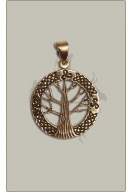 Lebensbaum aus Bronze