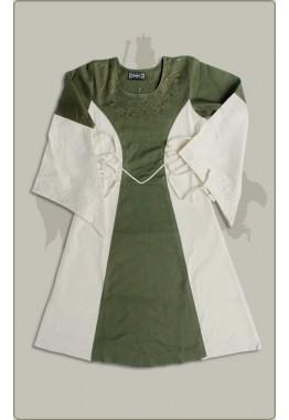 Besticktes Baumwollkleid für Kinder