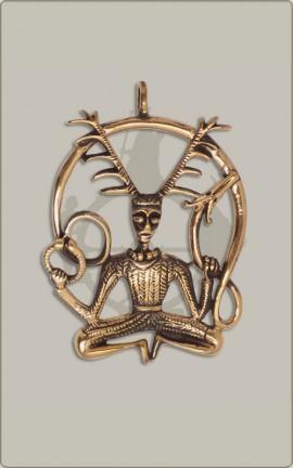 Bronzener Cernunnos