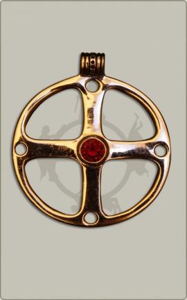 Radamulett aus Bronze