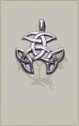 Keltischer Triskelen-Knoten - klein