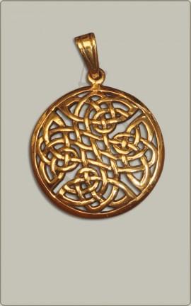 Knotenamulett aus Bronze