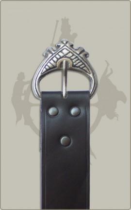 Kompletter Langgürtel, breit, in schwarz oder braun