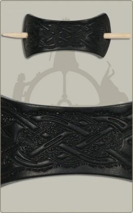 Haarspange mit Knotenschmuck