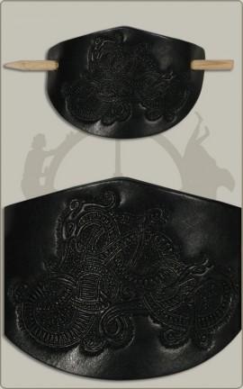 Haarspange mit Wikingerdrache