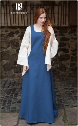 Eleganter Surcot des Hochmittelalters