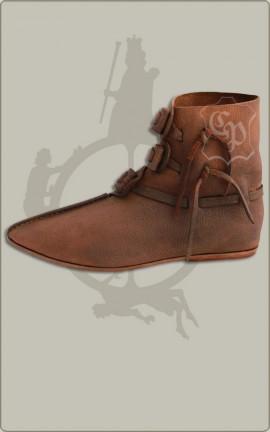 Hochmittelalter-Schuhe