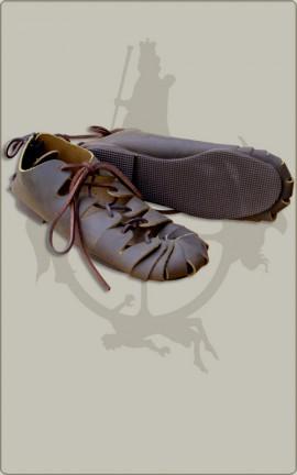 Mittelalter Schuhe Bundschuhe