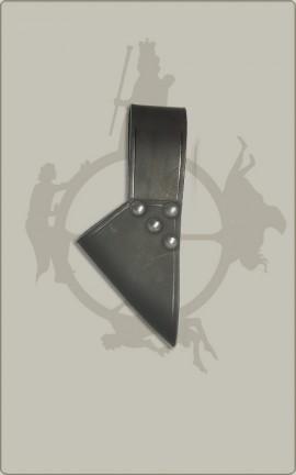 Schwerthalter in schwarz oder braun