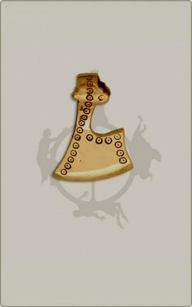 Axtamulett aus Bronze