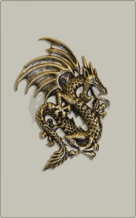 Bronzener Drache
