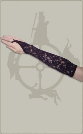 Klassische Armstulpen aus Spitze