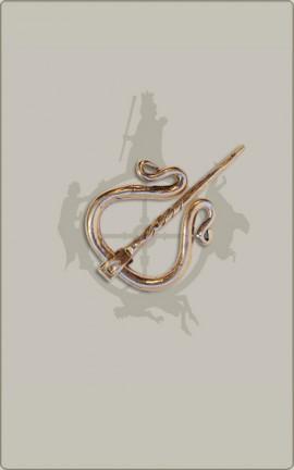 Kleine Ringfibel aus Bronze