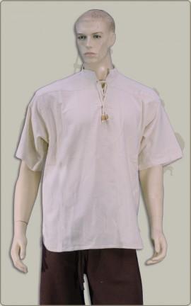 Baumwollhemd mit halben Arm