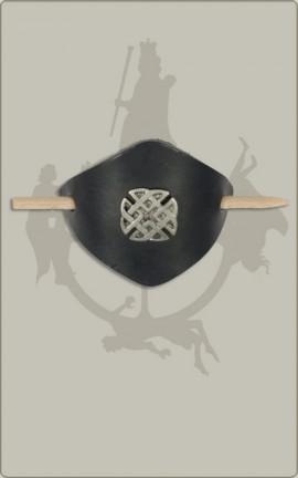 Haarspange mit Flechtband