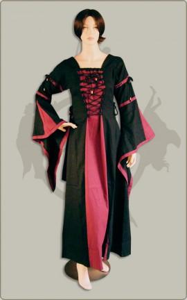 Vornehmes Mittelalterkleid