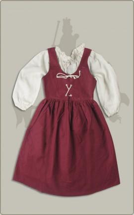 Kleidchen mit Bluse
