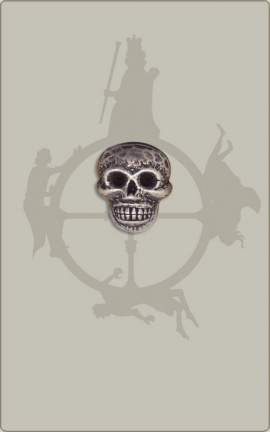 Kleiner Totenkopfknopf