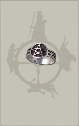 Klassischer Pentagrammring