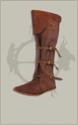 Spätmittelalter-Stiefel