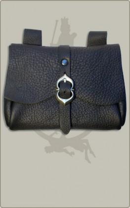 Mittelalterliche Tasche mit Riemen