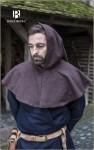 Gugel zur Mittelaltergewandung - braun